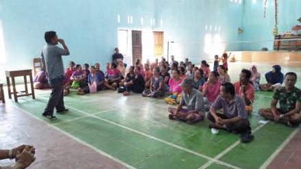 Sosialisai Pemutakhiran Data PKH Desa Penyabangan